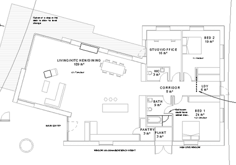 Refining the floor plan