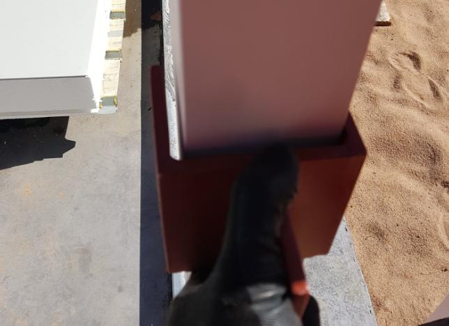 House frame – steelwork